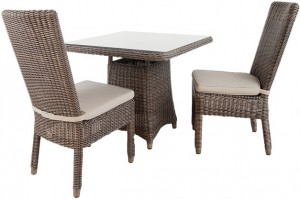 4 Seasons Outdoor Wales side chair + Devon tafel Leaf