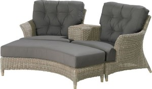 Valentine loveseat pure