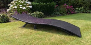 Royal patio Lounger Antraciet, royal patio loungeset.