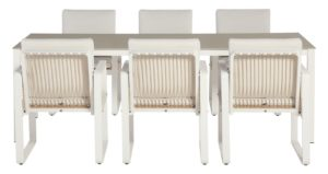 4 Seasons Outdoor Largo dining set