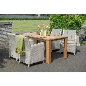 4 Seasons Outdoor Indigo dining set