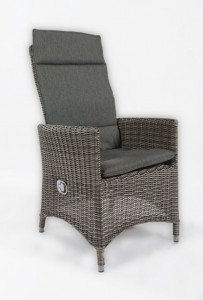 4 Seasons Outdoor taste Bolzano dining chair grey