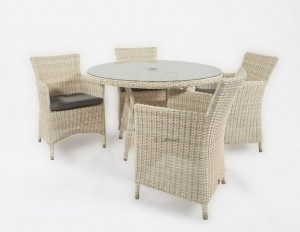 4 Seasons Outdoor taste Monza dining set elzas