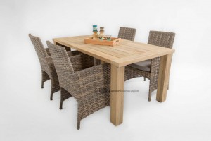 4 seasons outdoor mambo met louvre tafel
