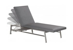 4 Seasons Outdoor Lado sunbed carbon