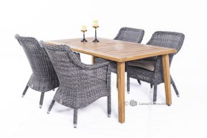 4 Seasons Outdoor Galleria teak tuinset