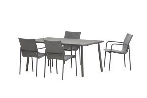 4 Seasons Outdoor atrium dining set