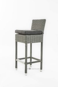 Garden delight barkruk wicker porto