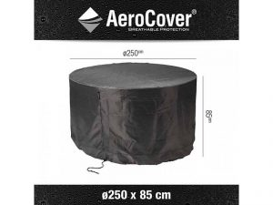 aerocover-ronde-tuinsethoes-250x85h-cm