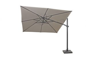 4 Seasons Outdoor Siesta premium parasol taupe