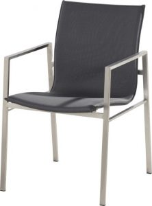 4 Seasons outdoor resort stackable chair anthracite