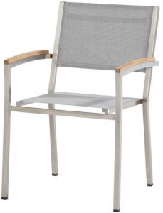 4 seasons outdoor Nexxt stackable chair Ash grey