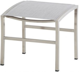 4 Seasons outdoor Nexxt footstool ash grey