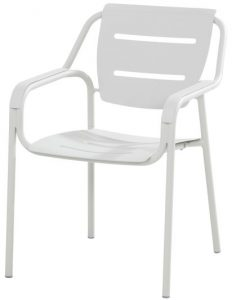 4 Seasons Outdoor Eco stacking dining chair seashell