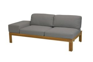4 Seasons Outdoor Mistral modular 2 seater right arm