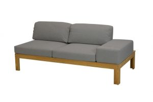 4 Seasons Outdoor Mistral modular left arm teak