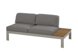 4 Seasons Outdoor Mistral Modular 2 seater left seashell