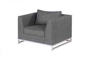 Exotan ibiza lounge stoel mixed grey