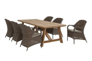 4 Seasons Outdoor Icon tafel met Sussex stoel