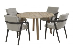 4 Seasons Outdoor Aragon dininge set with derby teak table_01