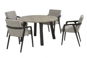 4 Seasons Outdoor aragon dininge set with derby teak table_03