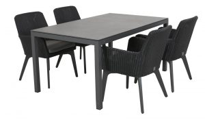 4 Seasons Outdoor Lisboa stoel met Salerno Tafel