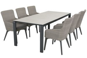 4 Seasons Outdoor Luxor eet tafel