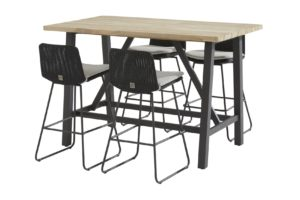 4 Seasons Outdoor Avila bar set met derby bartafel