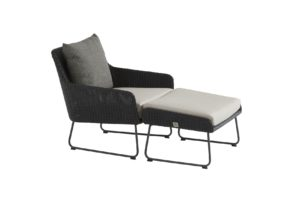 4 Seasons Outdoor Avila loungestoel met voetenbank