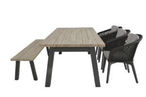 4 Seasons Outdoor Belize, 4 Seasons Outdoor Derby tafel 240 x 95 en 4 Seasons outdoor Sportbank, 4so