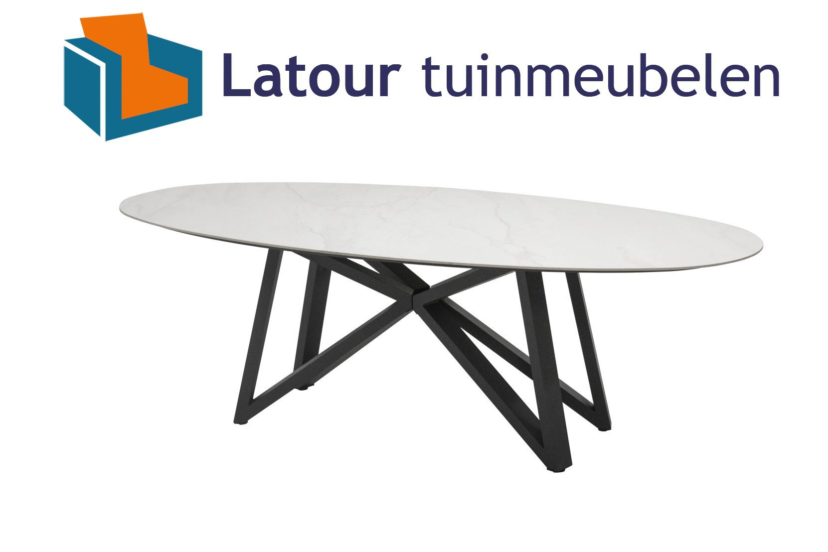 4 Seasons Outdoor global ovale tafel