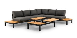 SUNS Green Memphis loungeset with up&down table-m