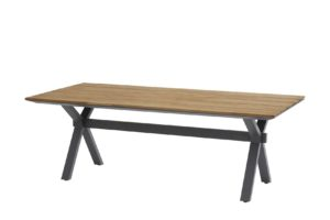 4 Seasons Outdoor Conrad tafel teak tafelblad 220 x 95