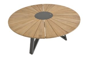 4 Seasons Outdoor global teak eettafel sunrise 160 cm