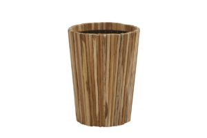 4 Seasons Outdoor miguel teak plantenbak rond