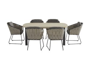 Taste by 4 Seasons Outdoor Bo eetset Derby Ellipse