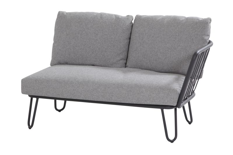 4 Seasons Outdoor Premium 2 seater bench left arm