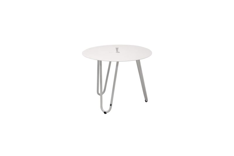 4 Seasons Outdoor cool sidetable white