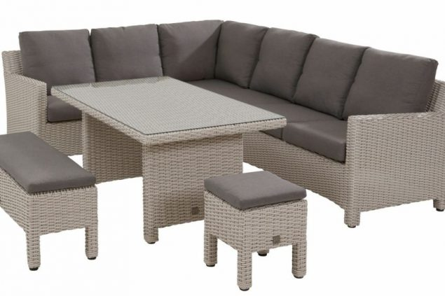 Taste by 4 Seasons Adora cosy dining set frost