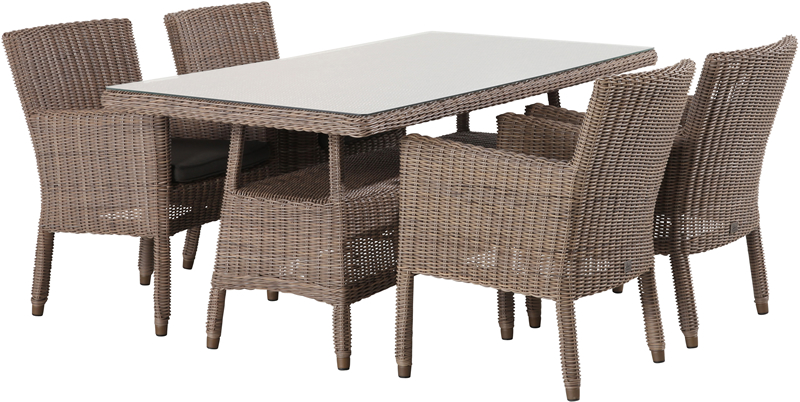 4 Seasons Outdoor Wales dining set