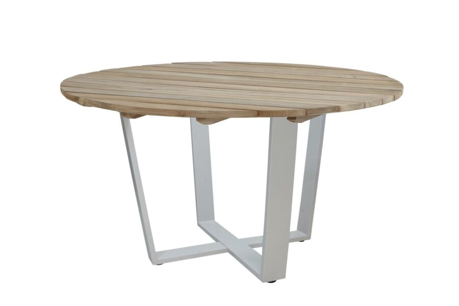 4 Seasons Outdoor Cricket tafel grijs rond