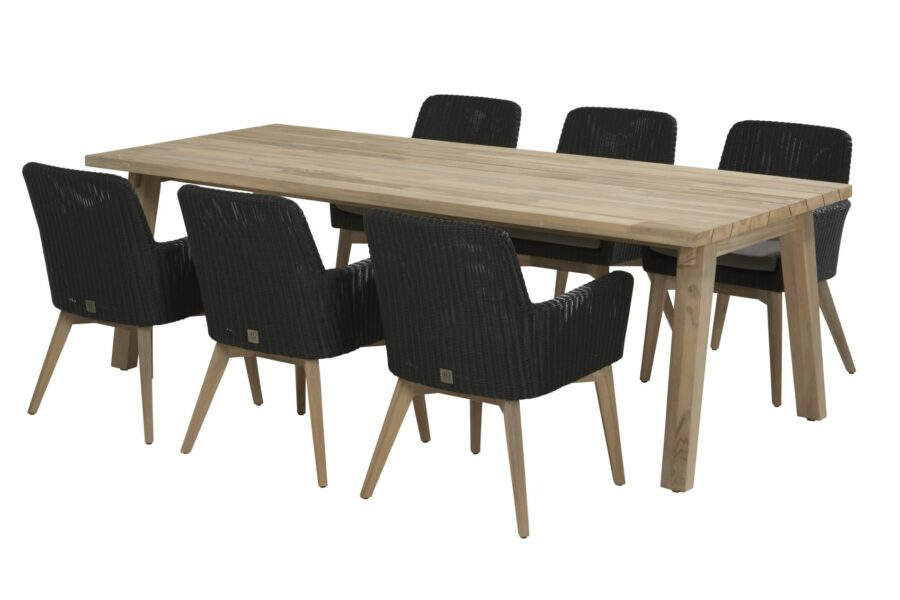 4 Seasons Outdoor Lisboa set met derby tafel