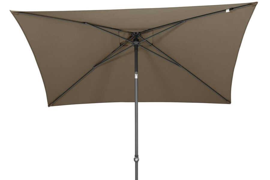4 Seasons Outdoor Oasis parasol taupe 200 x 250 cm