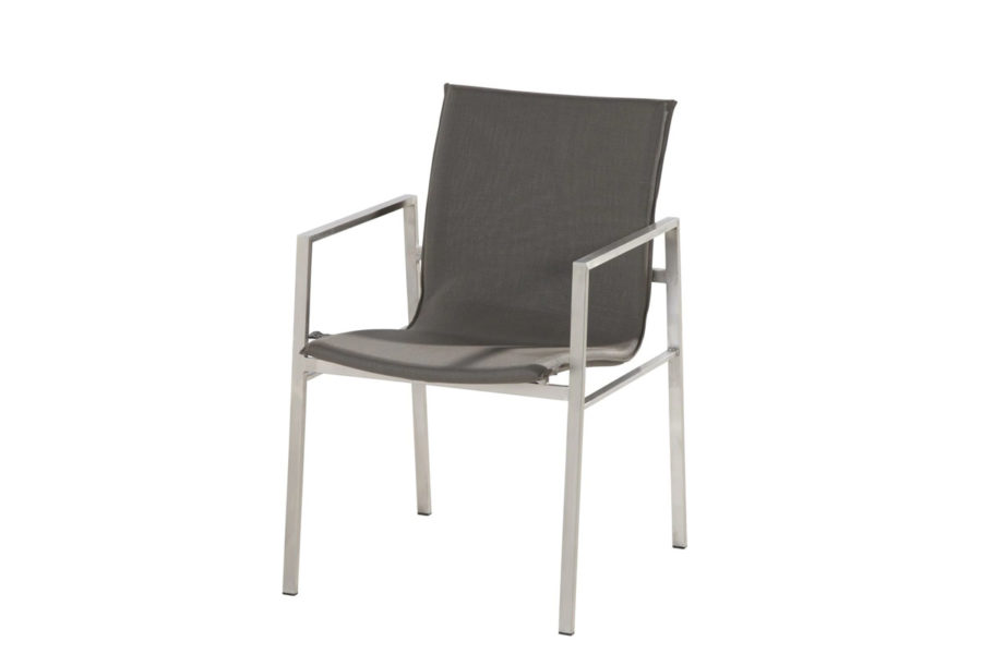 4 Seasons Outdoor Resort stackable chair taupe
