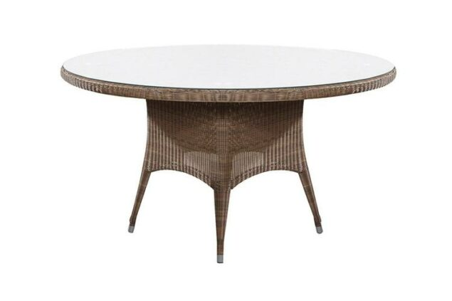 4 Seasons Outdoor Victoria dining table polyloom taupe 150cm