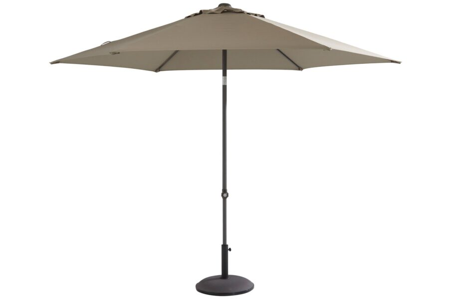 4 Seasons Outdoor oasis parasol taupe 250 cm
