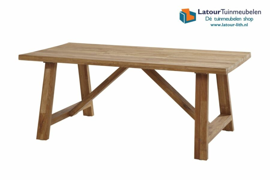 4 Seasons outdoor Icon junior teak top 180x102cm