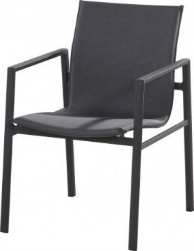 4 Seasons Outdoor stackable Albion dining chair anthracite