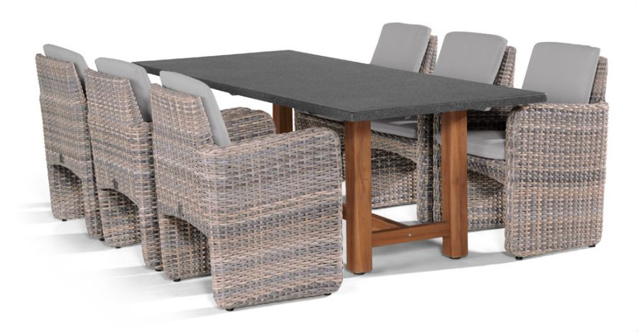 4 Seasons Outdoor Barbados dining set