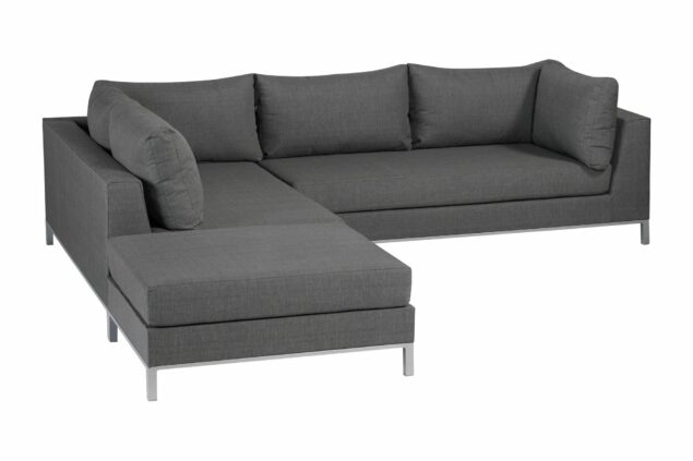 Exotan Sicilie loungeset stone grey links